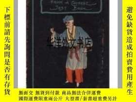 二手書博民逛書店【罕見】 1925年出版 中國笑話 Quips From a Chinese Jest-BookY226683