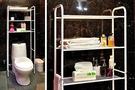 ikloo台灣製站立式馬桶置物架 洗衣機置物架 浴室收納架 浴室置物架【BG0588】Loxin
