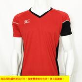 MIZUNO  美津濃 排球衣  (紅/黑) 練習衣 抗UV 快速排汗速乾  V2TA6G1962 【胖媛的店】