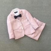 全館83折 韓版男童西裝套裝2018新款兒童婚禮服休閒嬰兒周歲時尚西服夏季