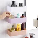 衛生間置物架壁掛浴室置物架吸壁式廁所收納...