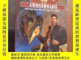 二手書博民逛書店英文原版罕見Shadowrun 36: Crossroads b