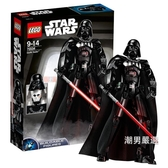 積木星球大戰系列75534達斯·維達2018款積木玩具xw