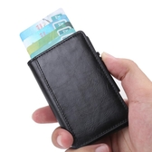 手推名片盒鋁合金包防消磁自動彈出式銀行卡夾金屬卡夾 ciyo黛雅