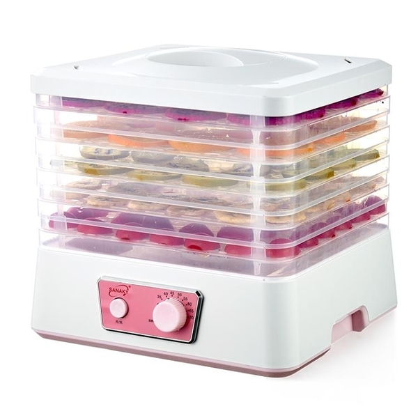 食物乾燥機 SANAKY干果機水果烘干機食品蔬菜寵物肉類食物脫水風干機家用小型 小宅君嚴選