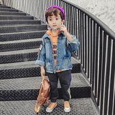 男童牛仔外套潮衣寶寶秋季童裝兒童春秋裝2018新款韓版休閒小男孩第七公社