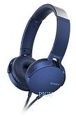 平廣 送袋繞公司貨保1年 SONY MDR-XB550AP 藍色 耳機 單鍵手機用 耳罩式耳機