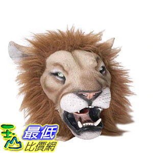 [103美國直購] 獅子面具 Forum Novelties Men's Deluxe Adult Latex Lion Mask $941