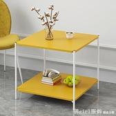 北歐沙發邊櫃臥室小桌子床頭桌陽台簡易茶几小戶型創意邊幾小圓桌 中秋節好禮 YTL