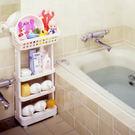 收納櫃  ISETO衛浴置物 架收納架 浴室收納車 衛浴整理架空間大師    居優佳品igo