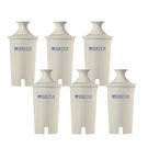 [可加購499送4L濾水壺] Brita 濾水壺專用圓形濾心/濾芯 (6入) (和舊款相容,效率更好可過濾151公升