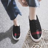 快速出貨 帆布鞋百搭女學生街拍板鞋