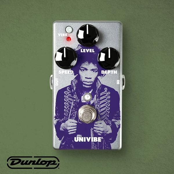 小叮噹的店-新品 Dunlop JIMI HENDRIX 效果器 UNI-VIBE CHORUS/VIBRATO JHM7
