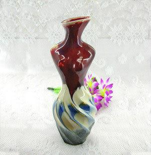 家居裝飾 景德鎮陶瓷器工藝品 藝術瓷 花器 A064
