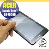 【Ezstick】ACER Iconia One 7 B1-760 靜電式平板LCD液晶螢幕貼 (可選鏡面防汙或高清霧面)