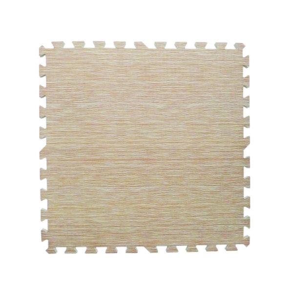 【新生活家】耐磨藺草紋地墊-米色62x62x1.4cm 4入