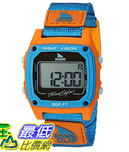 [106美國直購] Freestyle 手錶 Unisex 10026747 B014GT4ISK Shark Clip Digital Display Japanese Quartz Blue Wa