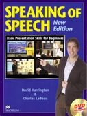 書Speaking of Speech (with DVD )