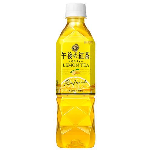 麒麟午後紅茶檸檬紅茶500ml【愛買】