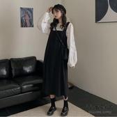 韓版顯瘦連身裙中長款吊帶裙女【毒家貨源】
