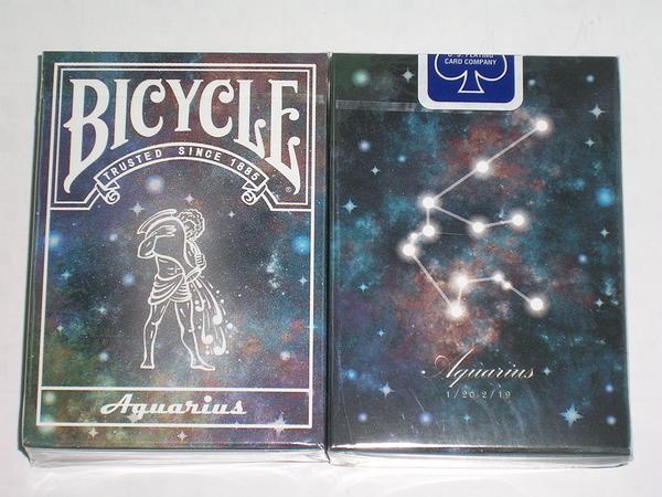 【USPCC撲克】Bicycle Aquarius deck 水瓶座 星座 撲克牌