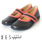 XES 休閒鞋 女鞋 XES專屬鞋底 防滑 活動鞋墊 優質黑