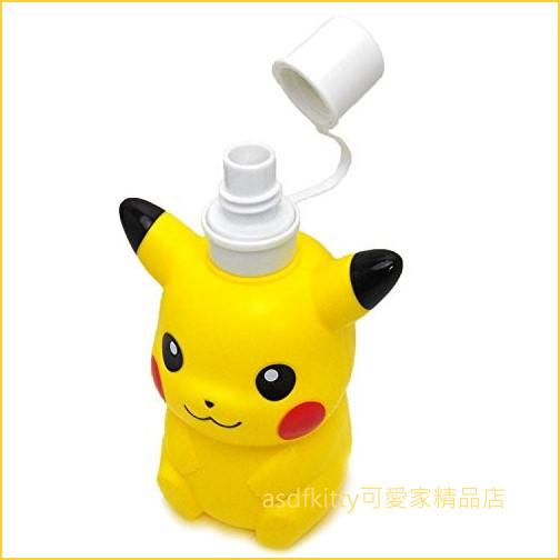 asdfkitty可愛家☆寶可夢 神奇寶貝 皮卡丘造型直飲水壺-500ML-日本正版商品