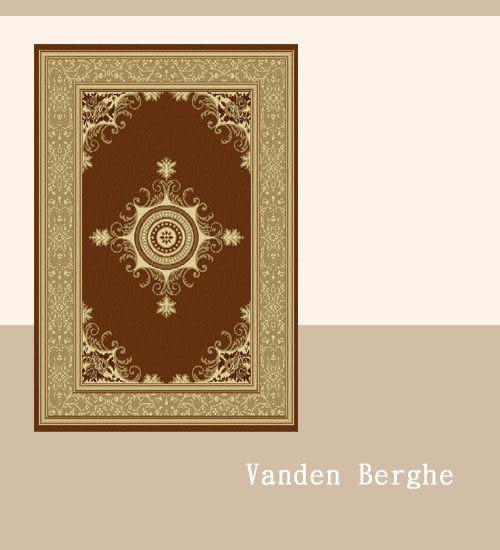 范登伯格 艾美樂進口優質踏墊-華麗(咖)50x80cm