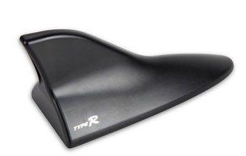 車之嚴選 cars_go 汽車用品【PA-98】TYPER車用黏貼式鯊魚靜電天線(LEXUS LS-460樣式)黑色
