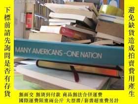 二手書博民逛書店Many罕見Americans-one Nation(secon