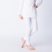 兒童保暖褲 發熱保暖 3M吸排技術 保暖褲 白色
