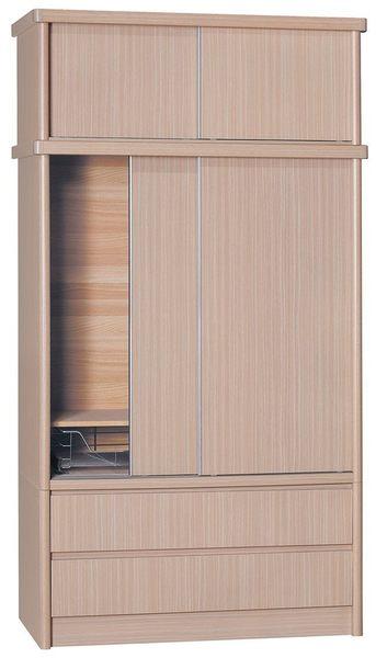 【新北大】TH05 鋁條4X8尺雙抽衣櫃 .5款(17購)