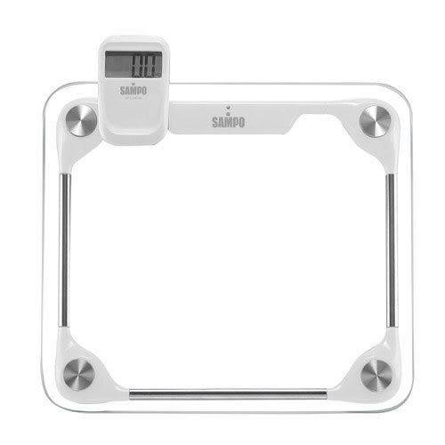 SAMPO 聲寶 手持/夾式兩用型液晶顯示體重計 BF-L1201ML◤大肚子/眼鏡族/老花眼的好幫手◢