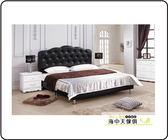 {{ 海中天休閒傢俱廣場 }} G-41 摩登時尚 臥室系列 A125-05A 戴安娜黑色5尺床頭片床
