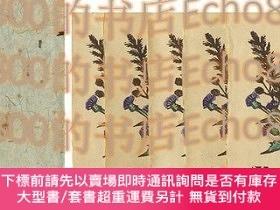 二手書博民逛書店版畫繪葉書罕見第9回 秋の野の草Woodblock Print Postcard vol.9 Flower of