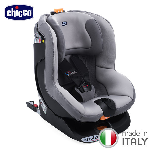【好禮買就送】chicco-Oasys 1 Isofix安全汽座-優雅灰