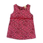 【愛的世界】甜心公主玫瑰條絨背心洋裝/6~12歲-台灣製- ★秋冬洋裝