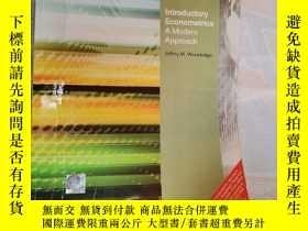 二手書博民逛書店Introductory罕見Econometrics A Modern ApproachY204025 Jef