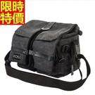 相機包-多功能防水帆布肩背攝影包2色68ab12[時尚巴黎]