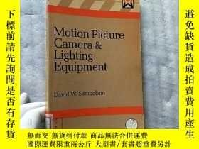 二手書博民逛書店Motion罕見Picture Camera and Lighting Equipment 大32開【館藏】Y
