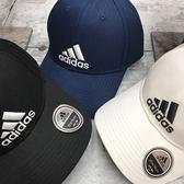 Adidas  Classic 6P 刺繡 可調式 老帽 男女皆可戴 (布魯克林) 2018/7月 CF6913藍 S98150白 S98151黑