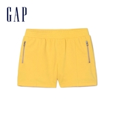 Gap女童 活力亮色鬆緊休閒短褲 358346-橙色