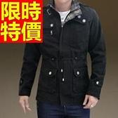 風衣外套-設計嚴選精選長版男大衣3色59r17[巴黎精品]