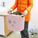 洗衣籃 臟衣籃洗衣籃臟衣服收納筐家用衣簍宿舍衣物衣服框桶子寢室塑料簍 麻吉部落