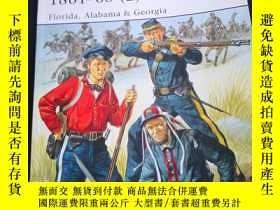 二手書博民逛書店罕見osprey系列 426 confederate Army