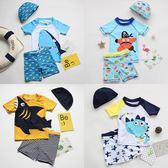 男童泳裝 兒童泳衣男童分體泳褲套裝男孩中大童卡通泳裝小童寶寶游泳裝備潮