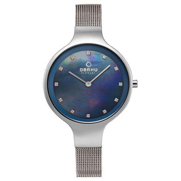 OBAKU 星光眷戀米蘭時尚腕錶-V173LXCLMC