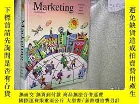 二手書博民逛書店MARKETING罕見FOURTH EDITION 市場營銷第四