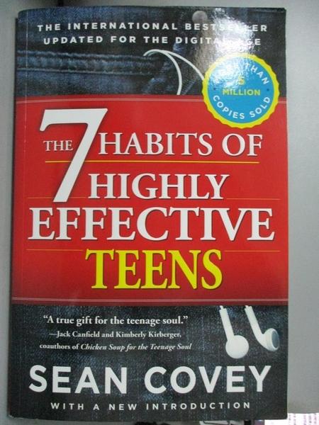【書寶二手書T1/傳記_ZGC】The 7 Habits of Highly Effective Teens_Covey, Sean