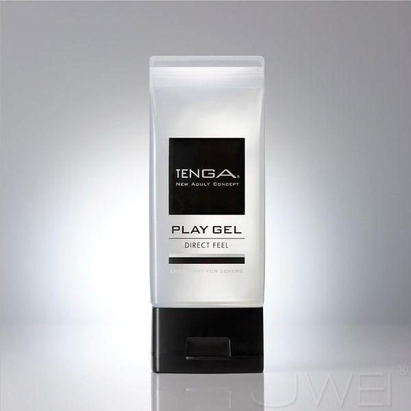 阿性情趣用品  日本TENGA.PLAY GEL-DIRECT FEEL 鮮明觸感型潤滑液(黑)150ml